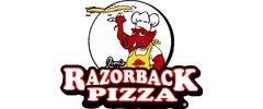 Jim's Razorback Pizza Logo