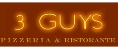 3 Guys Pizzeria Logo
