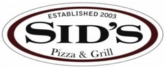 Sid's Pizza & Grill logo