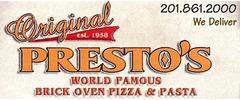 Original Presto's Brick Oven Pizza Logo