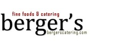 Berger's Catering Logo