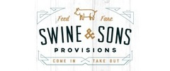 Swine & Sons Provisions Logo