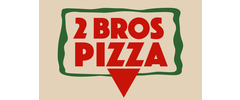 2 Bros Pizza logo