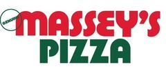 Massey's Pizza Catering Logo