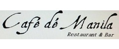 Cafe de Manila Restaurant & Bar Logo