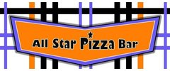 All Star Pizza  Bar logo