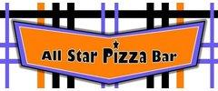 All Star Pizza  Bar Logo