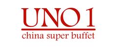 UNO 1 China Super Buffet Logo