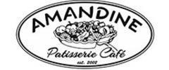 Amandine Patisserie Cafe Logo