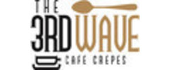 The 3rd Wave Cafe & Crepes Logo