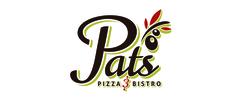 Pat's Pizza & Bistro Logo