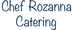 Chef Rozanna Catering Logo