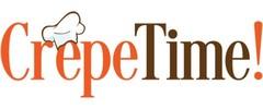 CrepeTime!: A Coffee & Crepes Company Logo
