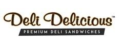 Deli Delicious Premium Sandwiches Logo