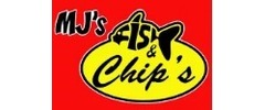 MJ's Fish and Chips Logo