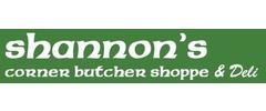 Shannon's Corner Butcher Shoppe & Deli Logo
