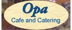 Opa Cafe and Catering Logo