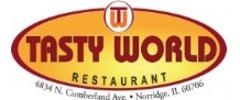 Tasty World Restaurant Logo