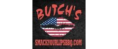 Butch's Smack Your Lips BBQ Logo