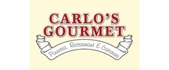 Carlo's Gourmet Pizza, Restaurant & Caterers Logo