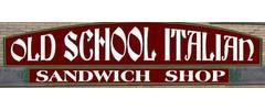 Old School Italian Sandwich Shop Logo