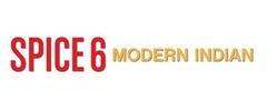 Spice 6 Modern Indian Logo