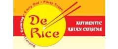 De Rice Asian Cuisine Logo