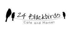 24 Blackbirds Cafe and Market Logo