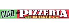 Ciao Pizza & Burgers Logo