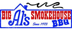 Big Al's Smoke House Barbecue Logo