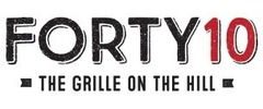 Forty10 Bar & Grille Logo