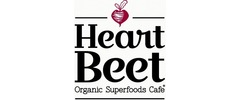 HeartBeet Organic Superfoods Cafe Logo