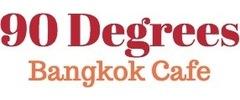 90 Degrees Bangkok Cafe Logo