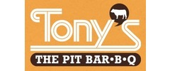 Tony's The Pit Bar-B-Q Logo