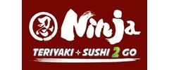 Ninja Teriyaki & Sushi 2 Go Logo