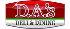DA's Deli and Dining Logo