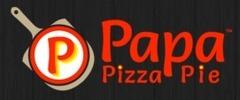 Papa Pizza Pie Logo