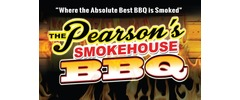 The Pearson's Smokehouse BBQ Logo