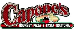 Capone's Gourmet Pizza Logo