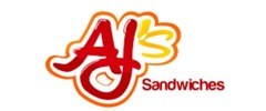 AJ's Sandwiches & Burgers Catering logo