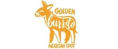 Golden Burrito Mexican Logo