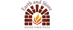 Earth and Stone Wood Fired Pizza Logo