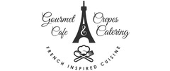 Gourmet Crepes Cafe and Catering Logo