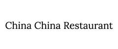 China China Restaurant Logo