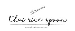 Thai Rice Spoon Catering Logo