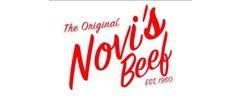 Novi's Beef Logo