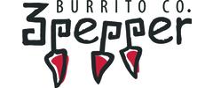 3 Pepper Burrito logo