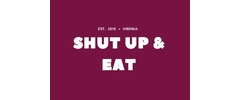 Shut Up and Eat Catering Logo