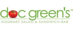 Doc Green's Gourmet Salad and Sandwich Bar Logo