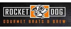 Rocket Dog Gourmet Brats & Brew logo